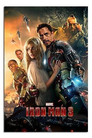 Iron Man 3 Eine Blatt Stil Poster Glanz Laminiert -