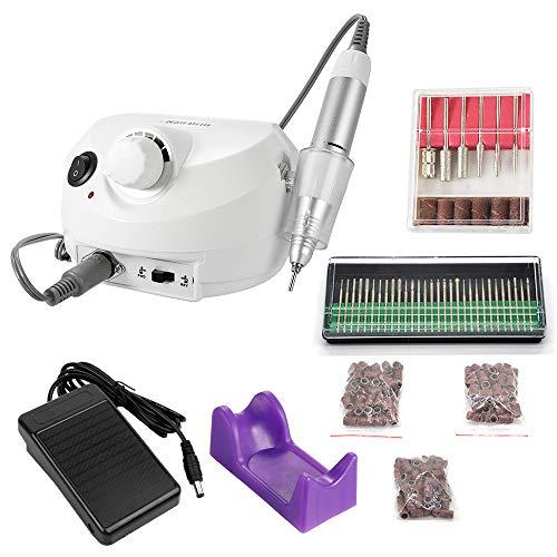 KKmoon 30000r Ponceuse à Ongle Manucure Pédicure Machine Professionnel Electrique, Kit de Polissage des Ongles, Manucure Machine...