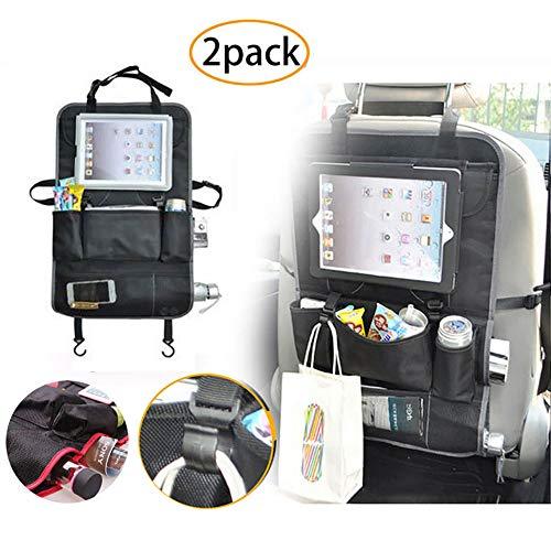 Auto-Rücksitz-Organizer, Universal-Auto-Rücksitz-Aufbewahrungstasche, für Kinder geeignet, Wasserspeicherflaschen, Tissue-Boxen, Spielzeug