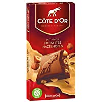 Cote d'Or Belgian Milk Chocolate With Whole Hazelnuts 7 oz. by Cote D Or PACK OF 6]
