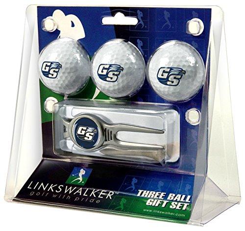LinksWalker 3Georgia Southern eagles-kool Werkzeug 3Kugel Geschenk Pack, silber/weiß, One Size (Golf Southern Georgia Eagles)