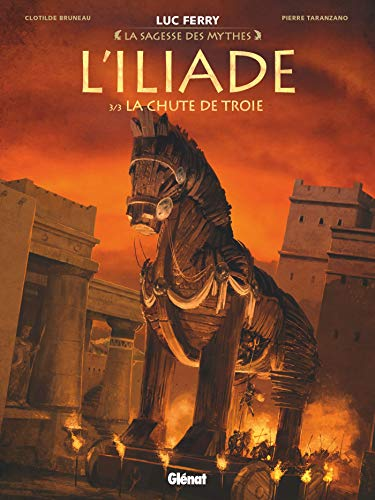 L'Iliade - Tome 03: La Chute de Troie par Clotilde Bruneau