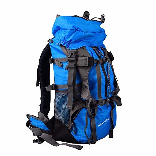 TBB-Escursionismo zaino Borsa Zaino outdoor da viaggio capacità grande borsa da viaggio,arancio 55L blue 55L