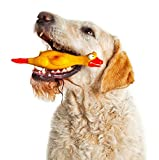 #5: Pets Empire Squeaking Duck Dog Toy - Yellow