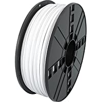 MG Chemicals White ABS 3D Printer Filament, 2.85 mm, 1 kg Spool - ukpricecomparsion.eu
