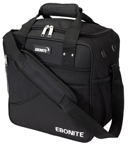 Ebonite Bowling Ball Single Tasche Bag Basic black (black) by Ebonite