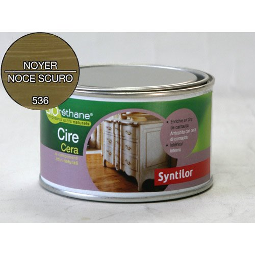Syntilor 250ml natürliches Wachs Paste nährt schützt Pflege Möbel Beschichtungen Holz entspricht Umwelt Menschen -