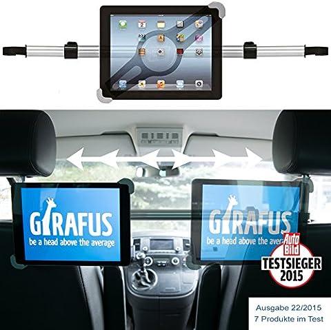 Girafus ®Relax H3 Universal Tablet Support appuie-tête de voiture pour banquette arrière 9-10-11