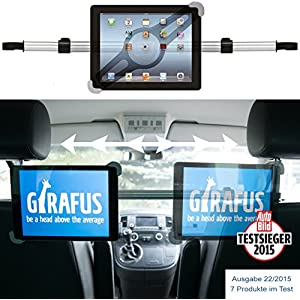 Beste Tablet-Auto-Halterungen: Rücksitzhalterung von Girafus