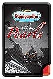 #10: RajnigandhaSaffron Blended Silver Coated Pearls, Elaichi, 6g