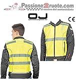 OJ - Gilet Alta Visibilità Certificato EN 1150 Flash, Multicolore, XXL