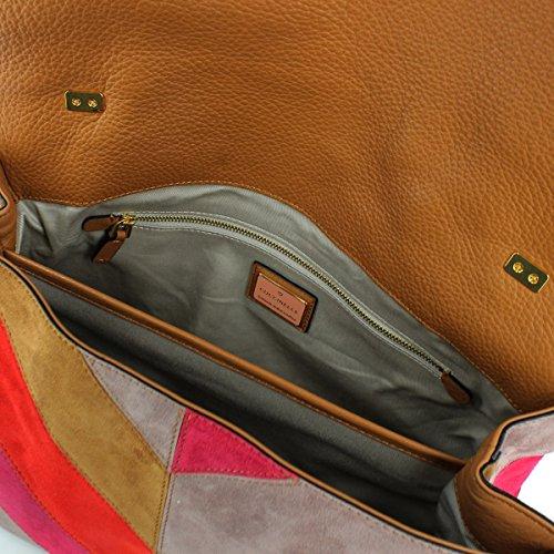 El Pago De Descuento Visa Del Precio Barato De Italia COCCINELLE LIYA CHEVRON DOUBLE HANDLE BAG BJ0180301-931 CUI/FRA/PIV/COQ CUI/FRA/PIV/COQ Descontar Última RUOOrYO