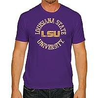 NCAA Lsu Tigers Men's Victory Vintage Tee, Medium, Purple