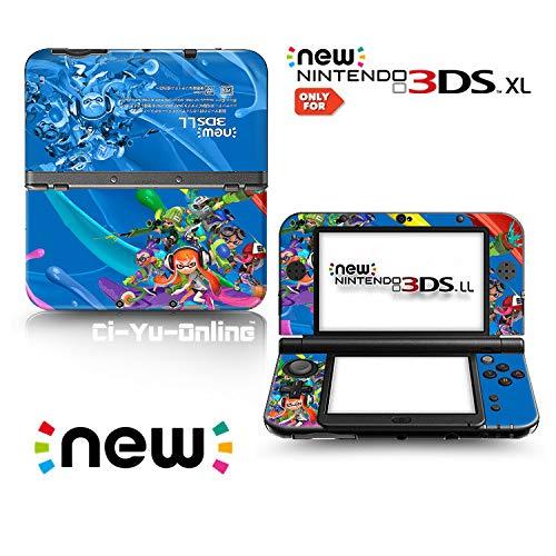 Ci-Yu-Online Aufkleber für Nintendo 3DS XL / LL Konsolensystem, Vinyl, Splatoon #1, limitierte Auflage