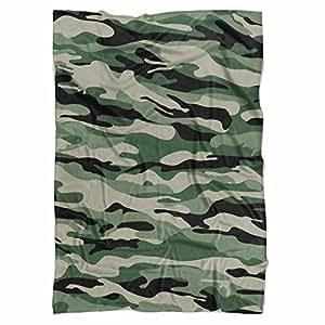militaire de camouflage couverture polaire doux couvre lit en fausse fourrure green mini. Black Bedroom Furniture Sets. Home Design Ideas
