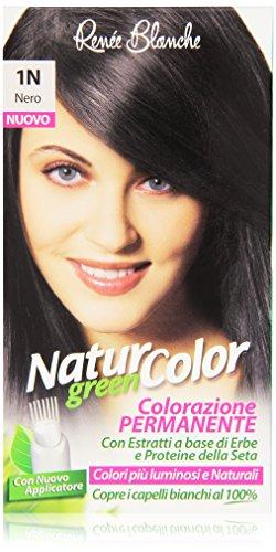 Renée Blanche - Natur Color, Colorazione Permanente, 1N Nero