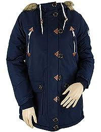 Bellfield Frolovo Ladies Parka Jacket Navy