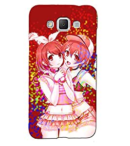 Fuson 3D Printed Girly Designer back case cover for Samsung Galaxy Grand 3 - D4544