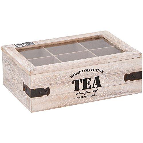 Contenitore Porta Tè e Tisane