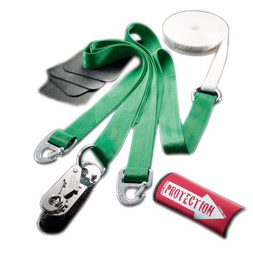Slackline-Tools Set Clip'n Slack 12 m lang, 3 cm breit + Baumschutz