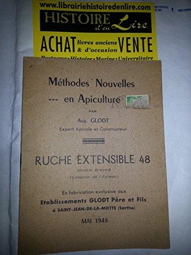 Ruche extensible 48 Méthodes nouvelles en apiculture par Glodt Auguste