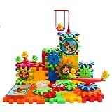 99 Pezzi - Gioco Educativo Set Giocattoli Ingranaggi da Costruzione per Bambini