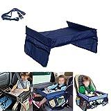 Milya Spieltisch für Autositz Zubehör Kindersitz Reisetisch mit Netztaschen Auto-Spieltisch...