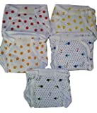 Gilli Shopee Cotton Hosiery Padded Nappies Langot Reusable Diaper Nappy Pack of 5 (3-6 Months)