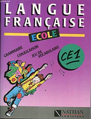 LANGUES FRANCAISE ECOLE CE1 GRAMMAIRE CONJUGAISON JEU DE VOCABULAIRE SANS LES DIQUETTES par ALBERT BRUNET FABRICE VANDALON