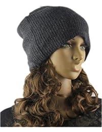 Prettystern - Bonnet chapeau Pure Cachemire 2-Fils Unisex Onesize Hollywood Star Beanie - Disponible en 5 Couleurs