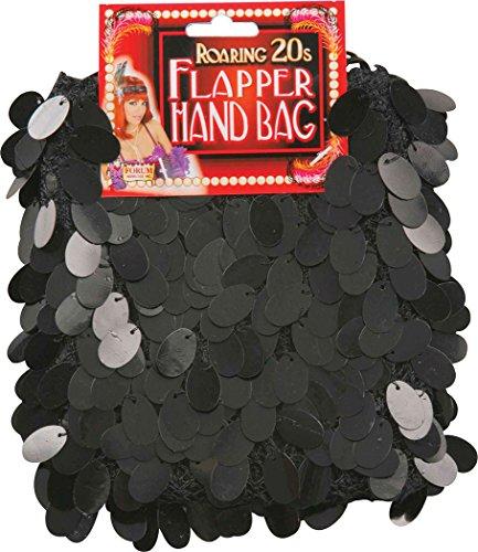 Damen 1920s Jahre Party Kostüm Zubehör Paillette Flapper Tasche (Tasche Flapper)