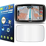 "GuarmorShield 3x Tomtom Go 600 6000 6"" GPS Premium Clear LCD Screen Protector Guard Cover Film Kits (NO Cutting, Package by GUARMOR)"