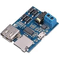 CAOLATOR Mp3 Sin Pérdida Decodificador Bordo TF Tarjeta U Disco de Audio Reproductor Módulo Viene con Amplificador de Potencia
