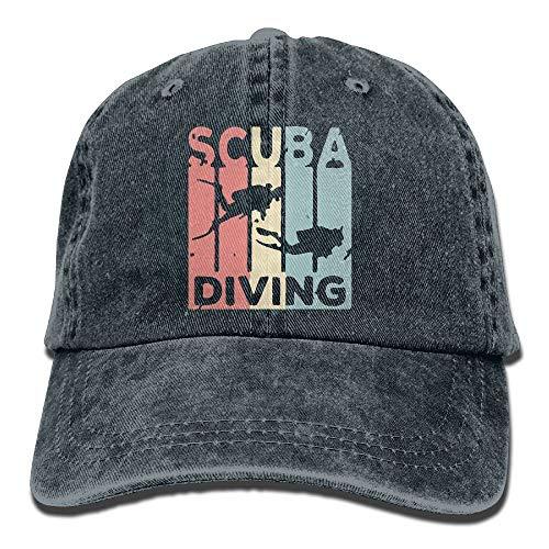 kslae Männer und Frauen Retro Scuba Diving Vintage Jeans Baseball Cap - Chauffeur-uniform