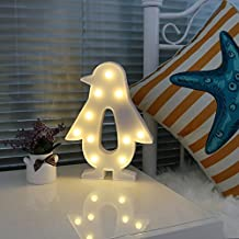 Mystery&Melody Pingüino LED Night Light Iluminación infantil Luces de estado de ánimo Lámparas de enfermería Baby Room Decor Desk Lights