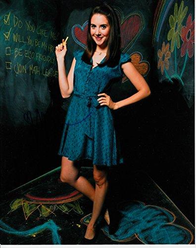 Alison Brie Signiertes Foto - 25.40 x 20.32 cm Farbe Gemeinschaft-Scream-garantiert 100% authentisch, In Person Dealer-UACC registriert #242 - Brie Alison Fotos