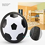Zorbes Children's Toy Electric Hover Ball With Football Door Kids Indoor Safe Fun Floating Foam Socce Parent-Child Interactive Toys Mutiple Fun