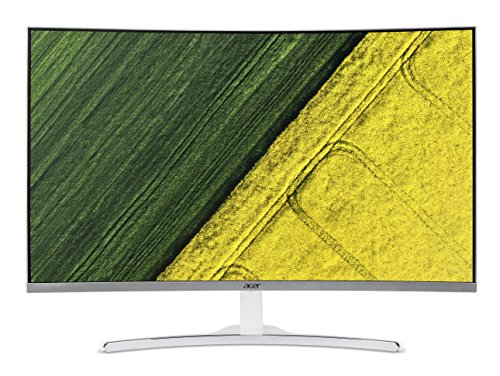 11. Acer 31.5-inch (80.01 cm) Curved Full HD LED Backlit Computer Monitor with Stereo Speakers - ED322Q (White)