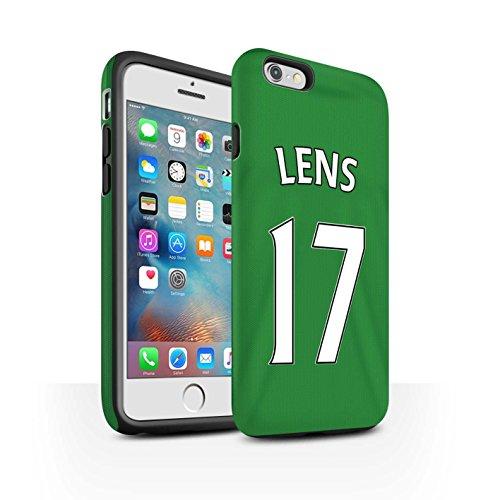 Offiziell Sunderland AFC Hülle / Matte Harten Stoßfest Case für Apple iPhone 6S+/Plus / Pack 24pcs Muster / SAFC Trikot Away 15/16 Kollektion Lens