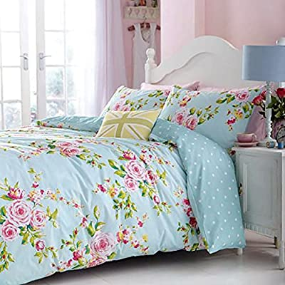 Canterbury Duvet Cover Bedding Set King - Multi produced by Catherine Lansfield - quick delivery from UK.