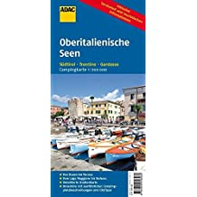 ADAC Campingkarte Oberitaliensche Seen: Südtirol, Trentino, Gardasee (Camping und Caravaning)