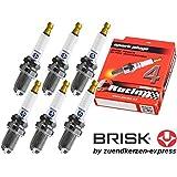 BRISK Premium Racing DOR15LGS 3026 Bujías de Encendido, 6 piezas