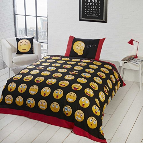 Smart Bedding Icons Smileys Quil...