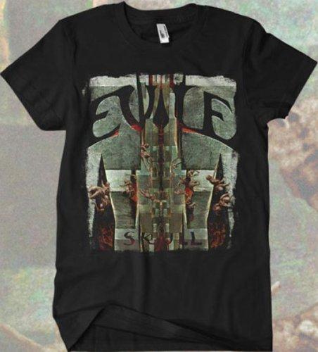 Evile - Skull T-shirt Schwarz