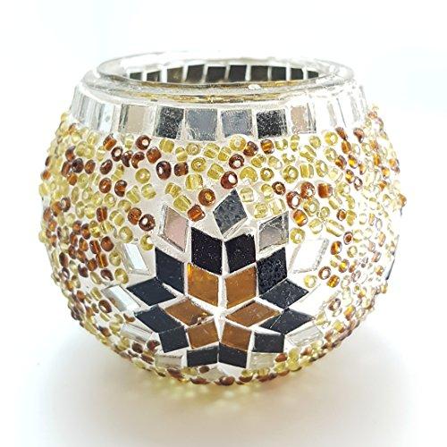 Marokkanische bunt Mosaik Tee-Licht kerze-halter Lampen mc7cand ()
