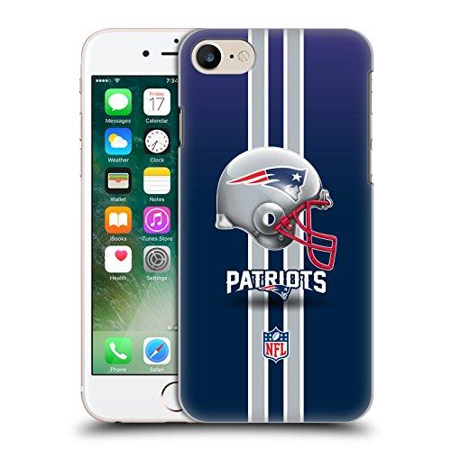 Ufficiale NFL Elmetto New England Patriots Logo Cover Retro Rigida per Apple iPhone 7