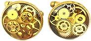 Gemelli di Steampunk, guarda le gemelli delle parti, guarda i gemelli