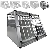 LovPet® XXL Hundebox Transportbox Alubox Hundetransportbox