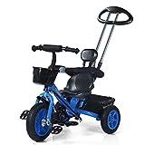 QWM-Baby Kinderfahrräder Männer und Frauen Baby 1 --- 5-jährige dreirädrige Bike / Kinderspielzeug Pedal Kindergeschenk-QWM ( Farbe : A )