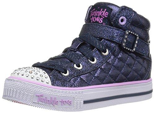 Skechers Shuffles - Sweetheart Sole - Zapatillas Niñas, Azul - Blau NVLV, 28